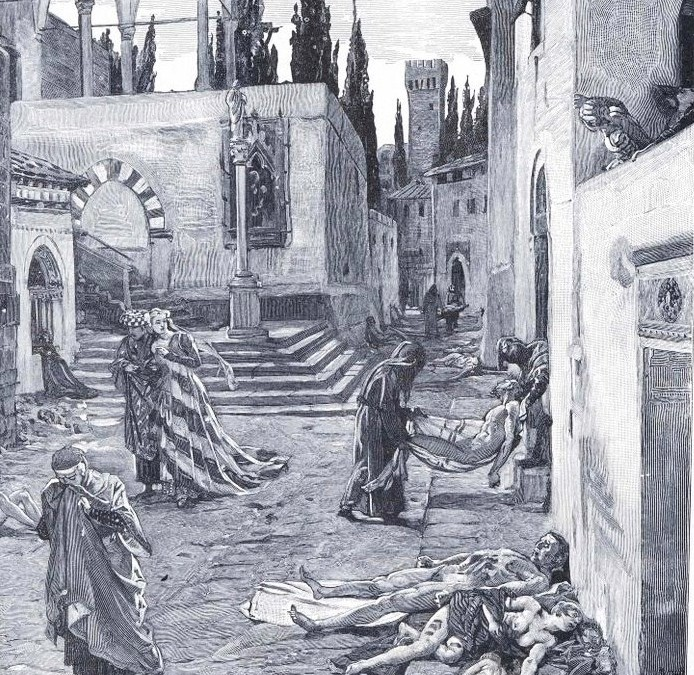 La peste negra en Europa (1347-1353)